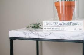 how to have fun with marble contact paper marble top table ikea hack