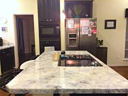 a dream design on a dime faux granite better than the real thing island side granite