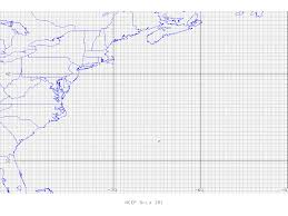 United States Map With Latitude And Longitude by On388 Grib Table B Grid Identification