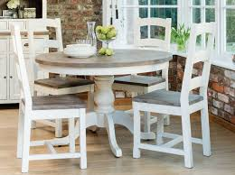 round kitchen table with leaf country white kitchen table and chairs euffslemani com