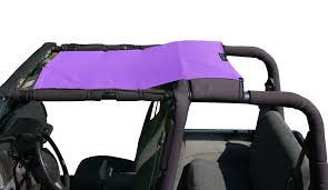 jeep purple alien sunshade jeep wrangler tjk mesh shade top cover provides uv