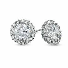 nadri earrings nadri cubic zirconia and stud earrings in white
