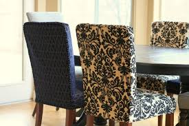 Dining Chair Cover Pattern Parson Chair Covers Pattern