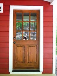 Wood Exterior Door How To Fix Common Problems On Entry Doors Diy