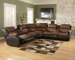 enchanting sectional living room set using l shaped recliner sofa