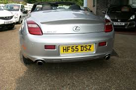 used lexus sc430 for sale uk used lexus sc 430 coupe auto navigation palladio silver black