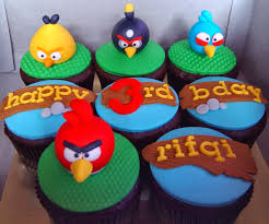 cupcake magnificent angry birds decorations for cakes angrybird