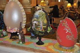 easter egg display 1st annual easter egg display at disney s grand floridian the dis