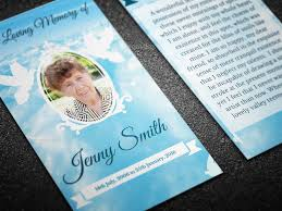 Funeral Card Template Peace Funeral Prayer Card Template By Creativesource Online