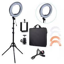 ring light for video camera rl 12 180 pcs l 14 led camera video ring light 5500k outdoor