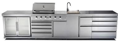outdoor kitchen bbq with fridge outdoor designs