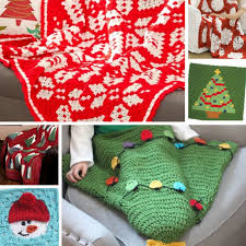 crochet christmas crochet christmas in july 46 crochet afghan patterns stitch and