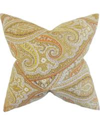 Uma Floor L Hello Winter 35 Uma Paisley Floor Pillow Kiwi