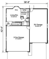 Garage With Living Quarters by Rv Garage Plans With Living Quarters Apartment Over Garage Designs