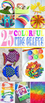 25 colorful kids craft ideas kids activities