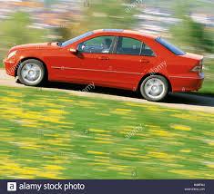 cars mercedes red car mercedes c class model year 2000 limousine medium class