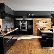 cuisine laqué noir stilvoll cuisine laquee organisation noir laque et bois ikea