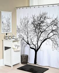 Best Fabric For Shower Curtain Black Tree Shower Curtain Best Selection In Town