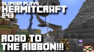minecraft ribbon hermitcraft minecraft lp e43 road to the ribbon let s play