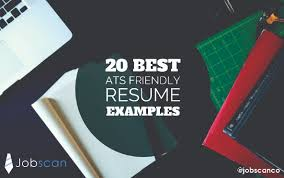 20 best ats friendly resume examples