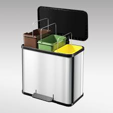 poubelle de cuisine a pedale poubelle tri selectif cuisine beautiful poubelle de tri sélectif