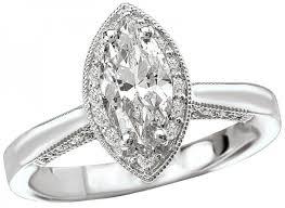 what is milgrain milgrain detail marquise diamond halo engagement ring