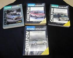 chilton repair manuals chrysler full size trucks 1989 96 acura