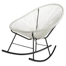 acapulco white indoor outdoor rocking chair free shipping today