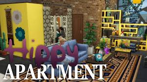the sims 4 apartment building hippy apartment youtube