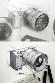48 best camera u003e sketch images on pinterest product sketch