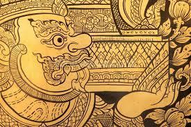 thai design traditional thai style painting wallpaper wall mural wallsauce usa