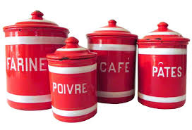 100 red kitchen canister sets ceramic 100 purple canister