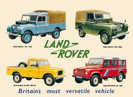 land rover 1990 land rover collage tin signs metal signs sold at europosters