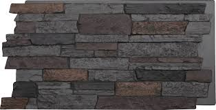 Home Stones Decoration by Decor Handsome Faux Stone Wall For Mesmerizing Home Decoration Ideas