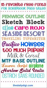 15 free fonts fonts pinterest fonts scrapbook and free