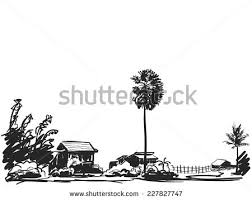 house and palm tree download free vector art stock graphics