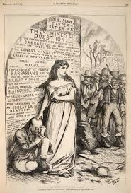 new yorker thanksgiving cartoon illustrating chinese exclusion thomas nast u0027s cartoons of chinese