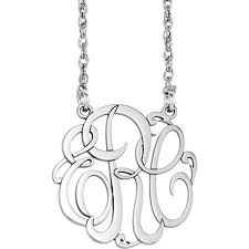 Three Initial Monogram Necklace 20 Best Family Jewelery Images On Pinterest