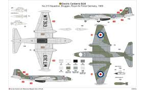 Air Force 1 Layout by Airfix A10101a English Electric Canberra B2 B20 1 48