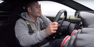Ferrari F12 Drift - chris harris drifts the ferrari f12 tdf for top gear gets weak at