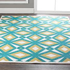 rugs teal and yellow rug survivorspeak rugs ideas
