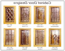Kitchen Cabinet Doors With Glass Leaded Glass Cabinet Door Inserts Designs School