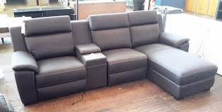 Nobu Modular Lounge  Seater Chaise  Electrical Reclining - Sofa bed modular lounge 2