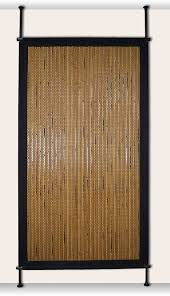 Tension Pole Room Divider Amazon Com Versailles Home Fashions Pp014 12 Bamboo Privacy