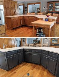 paint stained kitchen cabinets should i paint my oak cabinets or keep them stained