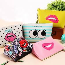 Waterproof Cushion Storage Bag by Creative Design Pu Leather Cosmetic Bag Large Capacity Waterproof