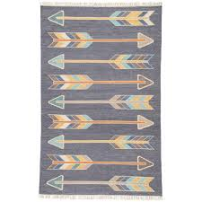 Area Rugs India Jaipur Rugs India Ink 8 Ft X 11 Ft Tribal Area Rug Rug128165