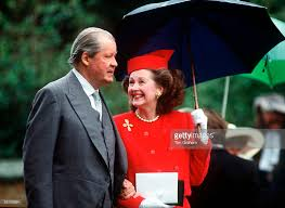 karen spencer countess spencer earl spencer and his wife raine at the wedding of his son charles