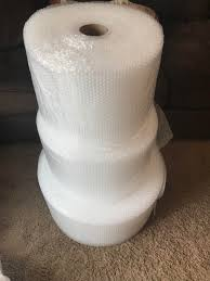 make sure to occasionally measure the rolls of bubble wrap you u0027re
