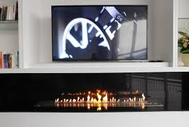 Bioethanol Fireplace Insert by Afire Remote Controlled Bio Ethanol Fireplace Insert